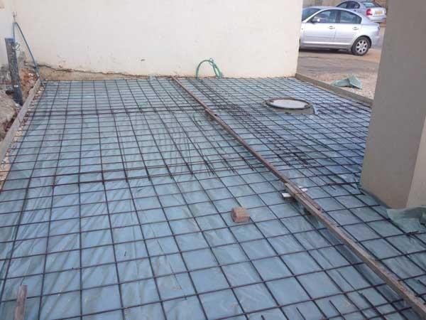 הכנות ליציקת בטון לפני שמתחילים עבודות שיפוצים במרכז