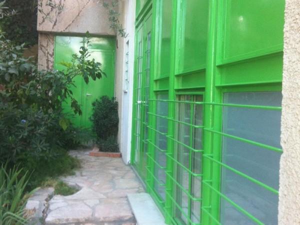 חלונות ברזל צבע ירוק וילה מוצא עילית 2