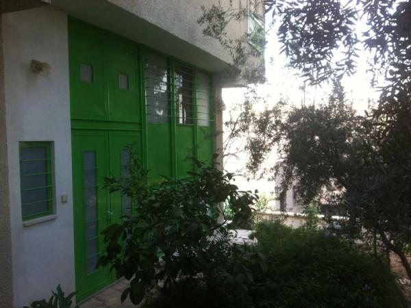 חלונות ברזל צבע ירוק וילה מוצא עילית